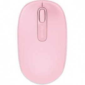Microsoft Wireless Mobile Mouse 1850 - Light Orchid. Comfortable and Portable. 2-way scroll wheel. U7Z-00025