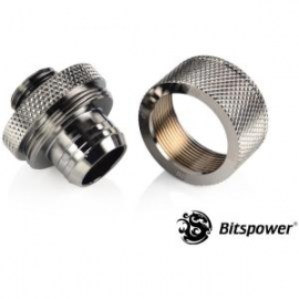 Bitspower Original Fitting For Multi-link Extension Application Via Pvc Tube Id 1/2 Od 3/4. True