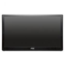 Aoc 15.6in E1659fwu Led Usb 3.0 Portable Monitor 5ms 1366x768 Contrast 500:1 Auto Pivot Vesa 75x75mm