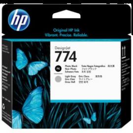 HP 774 Photo Black/Light Gray DesignJet Printhead (P2W00A)