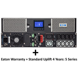 EATON 9PX 2200VA 2U RACK/TOWER + Warranty+ standard uplift 4 year (3973758 + 2681781)