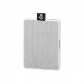 Seagate Ultra-Small 500GB BACK UP ONE TOUCH SSD - WHITE (STJE500402)