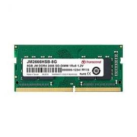 Transcend 16Gb JM DDR4-2666 Unbuffered SO-DIMM 1Rx8 1Gx8 CL19 JM2666HSB-16G