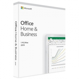 MICROSOFT OFFICE HOME AND BUSINESS 2019 ENGLISH (T5D-03301)