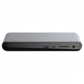 Belkin THUNDERBOLT 3 AND USB-C DOCK WITH DUAL 4K60HZ SUPPORT AND 85W UPSTREAM CHARGING (F4U097AU)