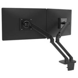 Ergotron MXV DESK DUAL MONITOR ARM MATTE BLACK 45-496-224