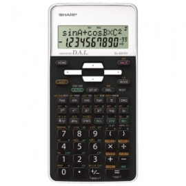 Sharp 272 MATH FUNCTION SCIENTIFIC CALCULATOR - WHITE EL531THBWH