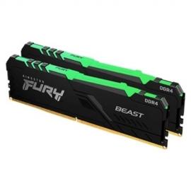 Kingston 32GB DDR4-3600MHz CL18 DIMM (Kit of 2) FURY Beast RGB KF436C18BBAK2/32