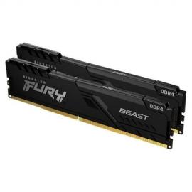 Kingston 32GB DDR4-3600MHz CL18 DIMM (Kit of 2) FURY Beast Black KF436C18BBK2/32