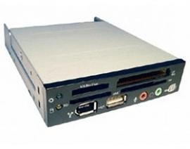 Ezcool Acr103a Internal Cardreader W/ Usb&1394 Black, Silver, Beige Acrezc103uint3c