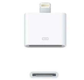 Amaze Apple 8 Pin Lightning To 30 Pin Adaptor (iphone 5/ Itouch 5/ Ipod Nano 7/ Ipad Mini/ Ipad), White Colour