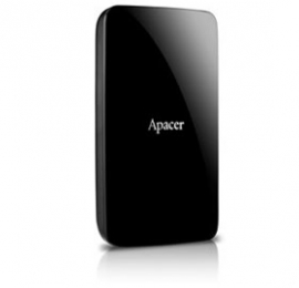 """Apacer Ac233 500gb Hdd Usb 3.0 2.5"""" Ext Hard Disk, Black, Retail Package"""