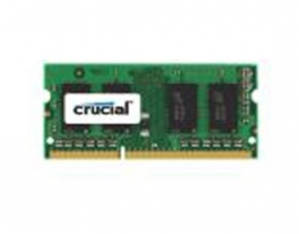 Crucial Ddr3l Sodimm Pc12800-4gb 1600mhz 256x8 Cl11 Dual Rank Notebook Memory. Supports Both 1.5v And 1.35v