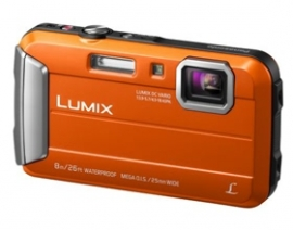 Panasonic Lumix Ft30 16.1mp Orange Tough Dmc-ft30gn-d