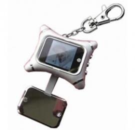 Ezcool 1.5 Inch Mini Digital Photo Frame With Key Chain & Screen Cover Dpfezc1.5inksilv