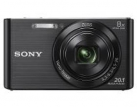 Sony Cybershot W830 20.1mp 8x Black Dscw830b