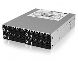 "Icy Box Ib-2222ssk - 4x 2.5"" Dual Channel Sas/ Sata Hdd Backplane Hddicy2222ssk4b"