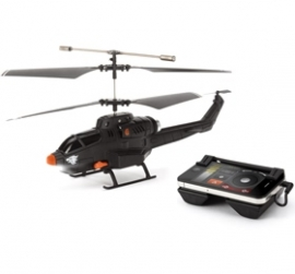 Griffin Helo Tc Assault Touch Controlled Missile Helicopter For Iphone, Ipad And Andriod Ex Demo