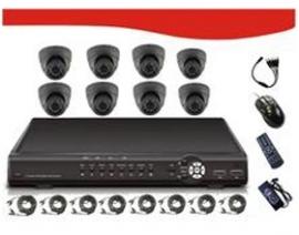 "Signageit 8ch Combo Kits Includes 8* 1/ 4""sharp 3.6mm Rj2421fa Ccd 420tv Line, Pal:500(h)x582(v)"