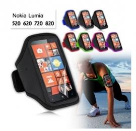 Ezcool Gym Running Sport Armband For Nokia Lumia 720 Bonus Screen Protector Mobvmxarmbandnok