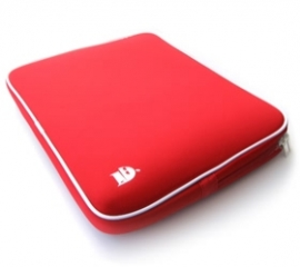 Seasonic 2 To 14 Inch Laptop Bag Sleeve Case (red) Nbblem12inredsl