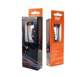 Nu Sporty Waterproof Earphone Kit Black White/ Flat Line