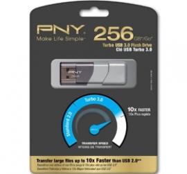 Pny 256gb Turbo Usb 3.0 Flash Drive Up To 10x Faster Than Standard Usb 2.0 Flash P-fd256tbop-ge