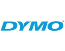 Dymo Easy Peel Split Back 12mm D1 Tape/ 12mm X 7m/ Black On White/ Single Cassette System/ Thermal
