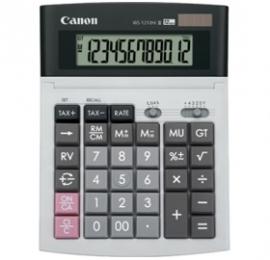 Canon Ws1210 Hi Iii 12 Digit Desktop Calculator, Dual Power, Tax Calculation Function, Adjustable