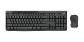 Logitech MK295 WIRELESS SILENT KEYBOARD AND MOUSE COMBO, 2.4GHZ USB RECEIVER - 1YR WTY (920-009814)