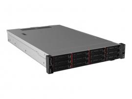 """LENOVO SR550 SILVER 4208 8C(1/2), 16GB(1/12), 2.5"""" HS(0/8), SR530, 750W (1/2), 3YR 7X04A07LAU"""