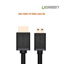 Ugreen Mini Hdmi To Hdmi Cable 2m 10117 Acbugn10117