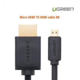 Ugreen Micro Hdmi To Hdmi Cable 3m 30104 Acbugn30104