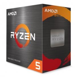 AMD Ryzen 5 5600G Processor: Socket AM4, Desktop CPU (Boxed), 6-Core/ 12 Threads UNLOCKED, Max Freq 4.4 GHz,