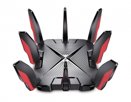 TP-LINK ARCHER GX90 AX6600 TRI-BAND WI-FI 6 GAMING ROUTER,QUAD-CORE CPU, ANT(8), 2.5Gbps(1