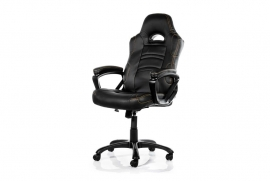 Arozzi Black Enzo Adjustable Ergonomic Motorsports Inspired Desk Chair Aro-enzo-bk