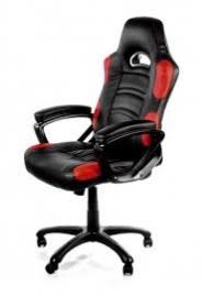 Arozzi Black & Red Enzo Adjustable Ergonomic Motorsports Inspired Desk Chair Aro-enzo-rd