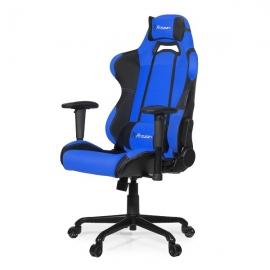 Arozzi Black & Blue Torretta Adjustable Ergonomic Motorsports Inspired Desk Chair Aro-tor-bl