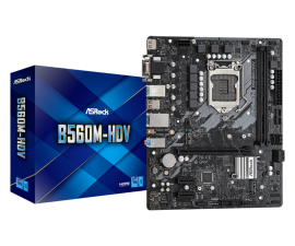 Asrock B560M-HDV Motherboard Supports 10th Gen Intel Core Processors and 11th Gen Intel Core Processors