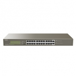 TENDA (TEG1124P-24-250W) 24-port GE PoE+ switch