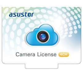 Asustor NVR 4 Channel Camera Licenses for Surveillance Center Digital Version As-Scl04