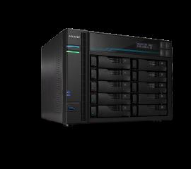 Asustor AS6510T 10 Bay Lockerstor 10 NAS Intel Atom C3538 Quad Core 2.1GHz 8GB DDR4 2x2