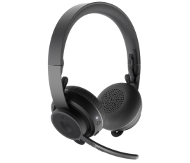 LOGITECH ZONE PLUS WIRELESS STEREO HEADSET,BT, NOISE CANCELLING (981-000808)