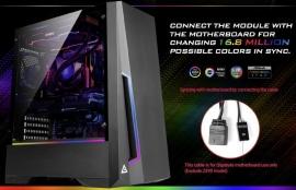 "Antec Dp501 Atx Argb Front Led Led Control Tempered Glass 2.5"" X 4 3.5"" X 2 7X Pci.1X 120Mm"
