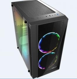 Casecom Gamming Xm-91 Front & Side Transparent Temper Glass Micro Atx