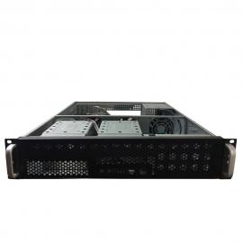 TGC Rack Mountable Server Chassis 2U No Psu 9X Fixed Hdd Bays Optional 1X 5.25Ã