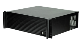 """TGC Rack Mountable3U Short Depth Chassis With Aluminium Louver Front Up To 9 X 3.5"""" Hdd Tgc-3380"""