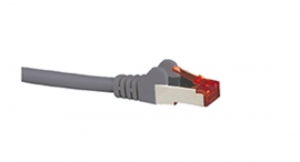 Hypertec Cat6A Shielded Cable 5M Grey Color 10Gbe Rj45 Ethernet Network Lan S/ Ftp Copper Cord