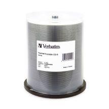 Verbatim Cd-R 700Mb 100Pk White Thermal 52XCmv95253 95253