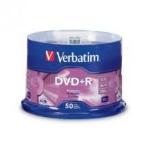 Verbatim Dvd+r 4.7gb 50pk Spindle 16x 95037